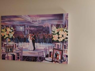 Live Wedding Painting by Mark 4