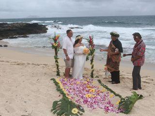 Sweet Hawaii Wedding 1