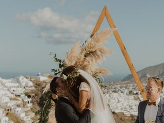 Weddings & Whimsy - Santorini, Greece 3