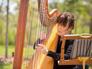 Harpist, Jenny Glass 2