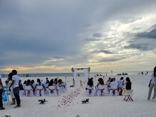 Florida Sunset Beach Wedding 4