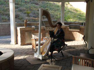 Dr. Vanessa Sheldon, harpist 1