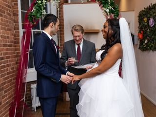 Stephen David Dym Wedding Officiant with WED in NYC 2