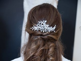 Vermont wedding hair by Brittany 1