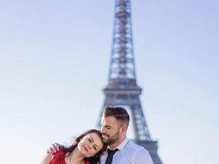Proposal & Elopement in Paris 7