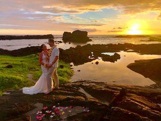 Simple Kona Beach Weddings 7