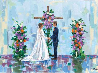 Julia McNally Fine Art & Live Event Painting 1