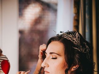 The Brushing Bride 2