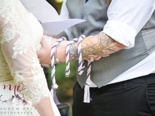 A Celtic Handfasting & Wedding Officiant 1