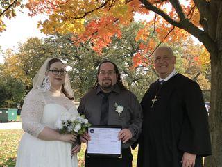 Chicago Marriage - Rev. Daniel L. Harris 1