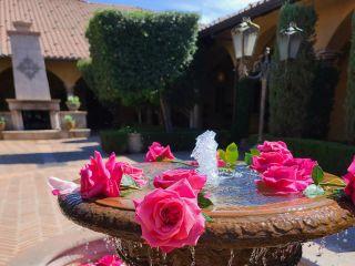 Garden Gate Flowers 1