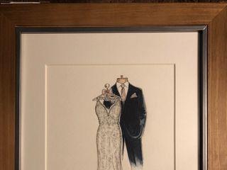 Dreamlines Personalized Wedding Dress Sketch 1