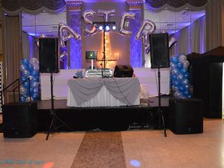 Ideal Media DJ, Lighting & Drape 3