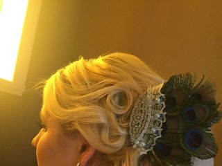 Hair & Makeup by MaRissa & The Elegance Salon Team 4