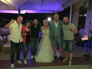Italy's Irish Wedding Band 1