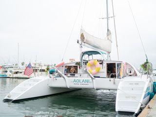 Aolani Catamaran Sailing 2