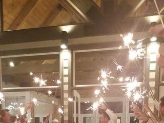 Wedding Day Sparklers 1