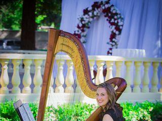 Lauren C. Sharkey, Harpist 3