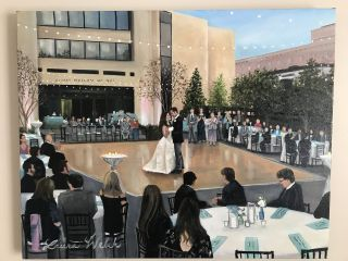 Artistic i Wedding - Live Painting 2