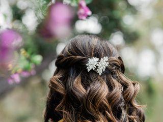 Bridal Hair by Brittany Reynolds 1