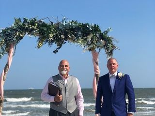 Michael Peter, SC Wedding officiant/notary 1