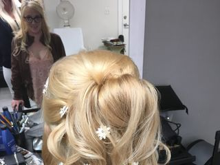 Professional Elegance On-Location Wedding Hair and M.A.C. Make-Up/ Airbrush Application 5