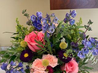 Blue Iris Flowers 4