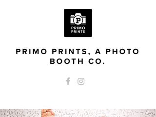 Primo Prints, a Photobooth Co. 1