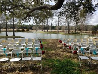 Burkhardt Pond - Amy's Wedding Rentals 1