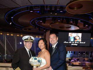 Captain Arnold (Chaplain) of Nautical Wedding Bells 1