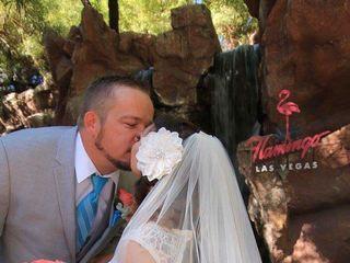 Flamingo Las Vegas Wedding Garden Chapel 1