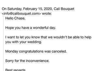 Cali Bouquet 1