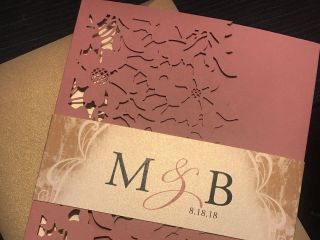 Krystals Wedding Invitations 4