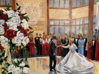 Julia McNally Fine Art & Live Event Painting 3