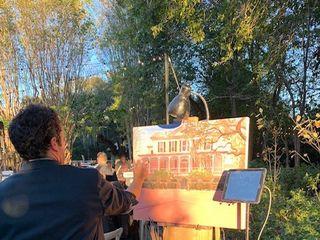 Wed on Canvas, Live Wedding Artist Ben Keys 1