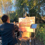 Wed on Canvas, Live Wedding Artist Ben Keys 5