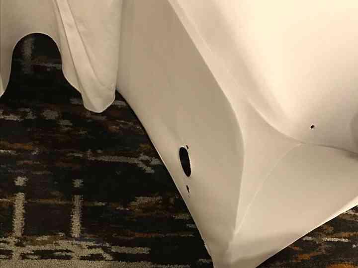 Superb Simply Elegant Chair Covers Linen Reviews Rochester Mi Machost Co Dining Chair Design Ideas Machostcouk