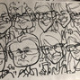 Adam Pate's 60 Second Strolling Speed Sketchers Caricatures and Entertainment 6