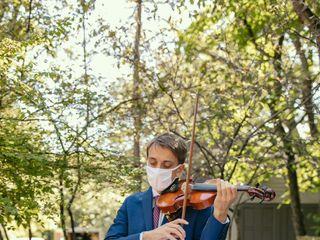 Brian Ostrega Violinist 1