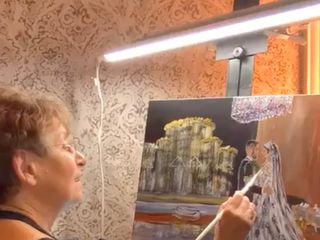 Live Event Painting by Renata 2