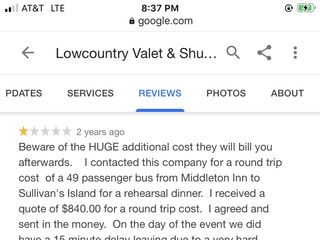 Lowcountry Valet & Shuttle Co. 1