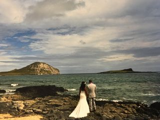 Sweet Hawaii Wedding 1