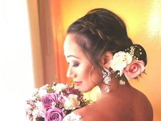 Wedding Hairstyles & Makeup 1