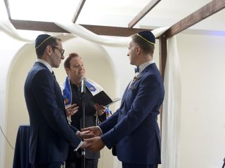 Wedding Rabbi Shai Specht Sandler 2