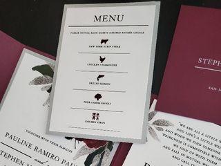 Krystals Wedding Invitations 5
