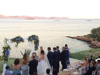 """Wedding In Greece"" 