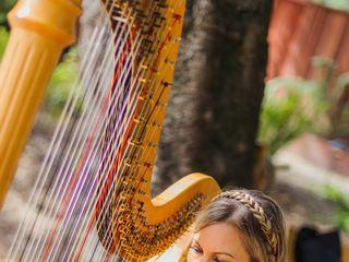 Harpist Krista Strader 1