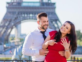 Proposal & Elopement in Paris 6
