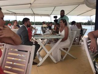 La Barcaza Wedding and Event Boat 1