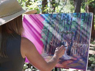 Talia Koval Live Painting 3